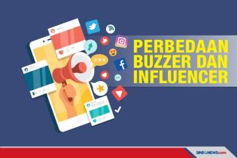 Perbedaan Istilah Influencer dan Buzzer yang Sering Kita Dengar