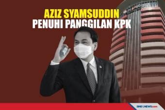 Azis Syamsuddin Enggan Bersuara Usai Diperiksa KPK
