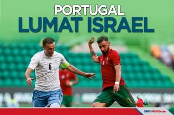 Uji Coba Jelang Piala Eropa 2020: Portugal Lumat Israel
