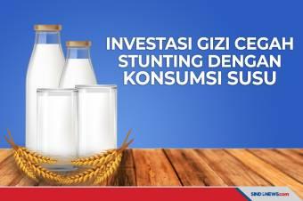 Minum Susu Secara Rutin Bisa Jadi Investasi Gizi Cegah Stunting