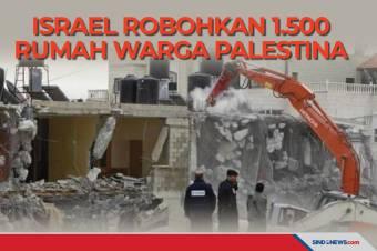 Israel Perintah Robohkan 1.500 Rumah Warga Palestina