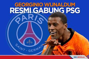 Georginio Wijnaldum Resmi Gabung Paris Saint-Germain hingga 2024