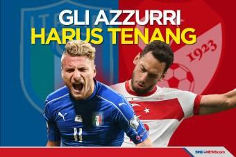 Preview Italia vs Turki: Gli Azzurri Harus Bermain Tenang