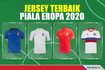 10 Jersey Terbaik Piala Eropa 2020: Renaisans Italia, Retro Rusia