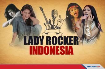 Lady Rocker Tanah Air Bersuara Dahsyat Era 1980 hingga 1990-an