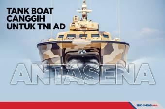 Antasena, Tank Boat Canggih untuk TNI AD Buatan Pindad