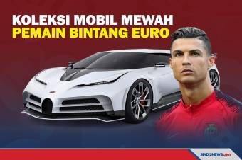 Deretan Koleksi Mobil Mewah Pemain Bintang Euro 2020