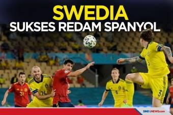 Berakhir Imbang, Swedia Sukses Redam La Furia Roja
