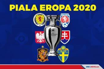 Hasil Lengkap Piala Eropa 2020, Senin-Selasa (15/6/2021) WIB