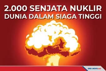 2.000 Senjata Nuklir Dunia dalam Keadaan Siaga Tinggi