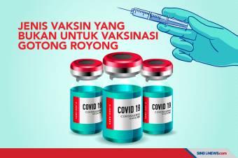 Ini Vaksin yang Tak Boleh Digunakan untuk Vaksinasi Gotong Royong