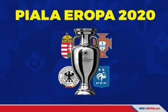 Hasil Piala Eropa 2020 Grup F: Portugal-Prancis Raih Poin Penuh