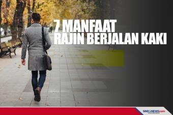 7 Manfaat Fisik dan Psikologis dari Rajin Berjalan Kaki