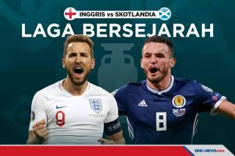 Piala Eropa 2020:: Inggris vs Skotlandia, Laga Bersejarah