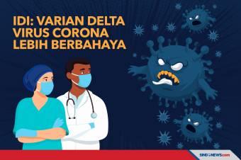 IDI: Jangan Lengah, Varian Delta Virus Corona Lebih Berbahaya