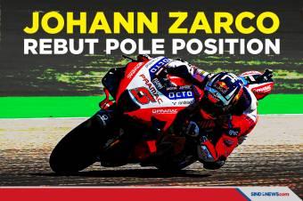 Johann Zarco Rebut Pole Position di MotoGP Jerman 2021