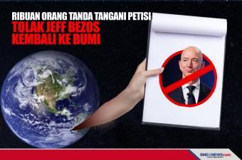 Ribuan Orang Tanda Tangani Petisi Tolak Jeff Bezos Kembali ke Bumi
