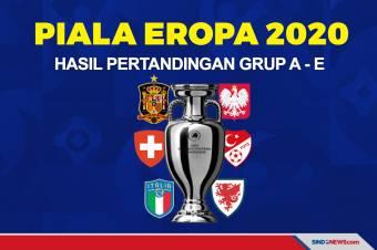 Hasil Piala Eropa 2020: Wales Temani Italia ke Babak 16 Besar