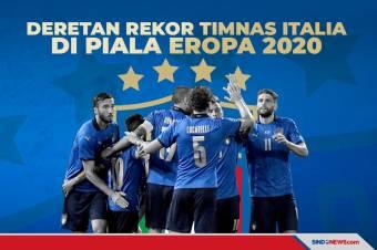 Piala Eropa 2020: Berikut Deretan Rekor Timnas Italia