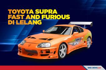 Lelang Toyota Supra Fast And Furious Laku Rp 7,9 Miliar