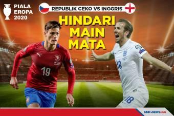 Piala Eropa 2020: Republik Ceko vs Inggris: Hindari Main Mata