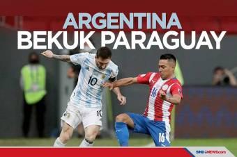 Copa America 2021: Argentina Sukses Kalahkan Paraguay