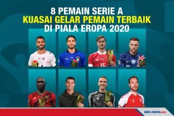 8 Penggawa Serie A Kuasai Pemain Terbaik Piala Eropa 2020