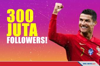 Cristiano Ronaldo si Manusia 300 Juta Pengikut di Instagram