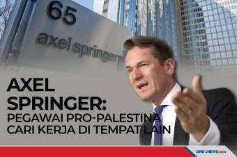AXEL SPRINGER: Pegawai Pro-Palestina Cari Kerja di Tempat Lain