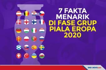 Ini 7 Fakta Menarik Penyisihan Grup Piala Eropa 2020