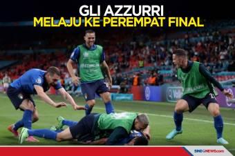 Babak 16 Besar Piala Eropa 2020: Gli Azzurri ke Perempat Final