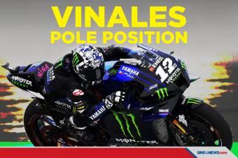 Maverick Vinales Rajai Kualifikasi GP Belanda 2021