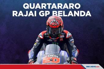 Fabio Quartararo Rebut Kemenangan di GP Belanda 2021