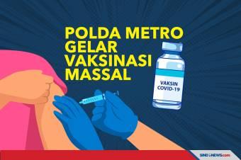 8 Titik Vaksinasi Massal Covid-19 Gratis Polda Metro Jaya