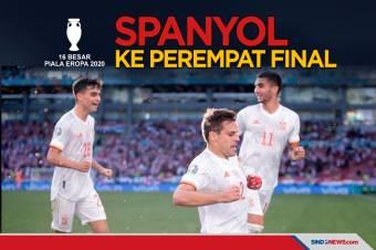 Spanyol Melaju ke Perempat Final Usai Bekuk Kroasia