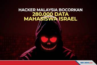 Hacker Malaysia Bocorkan Data 280.000 Mahasiswa Israel