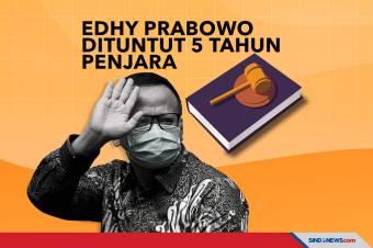 Edhy Prabowo Dituntut 5 Tahun Penjara di Kasus Ekspor Benur
