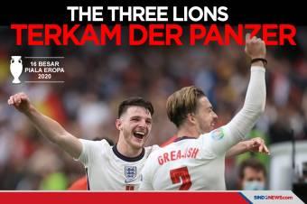 Timnas Inggris ke Perempat Final Usai Kalahkan Jerman