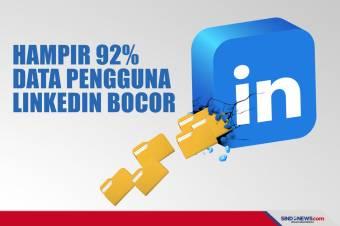 Diretas, Hampir 92% Data Pengguna LinkedIn Bocor