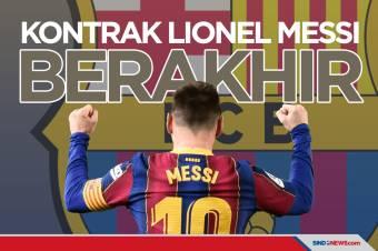 Per Hari Ini Kontrak Lionel Messi di Barcelona Berakhir