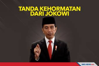 Jokowi Anugerahkan Bintang Bhayangkara Nararya ke Anggota Polri