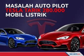 Autopilot Bermasalah, Tesla Tarik 280.000 Mobil Listrik di China