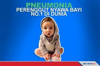 Penyakit Pneumonia Jadi Pembunuh ke-5 di Dunia, ke-1 untuk Bayi