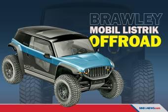 Brawley, Mobil Listrik untuk Terabas Medan Offroad
