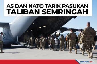 AS dan NATO Tarik Pasukan dari Bagram, Taliban Semringah