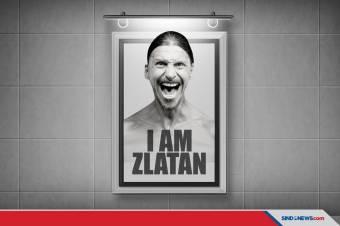 Otobiografi 'I Am Zlatan (2011)' Diangkat Jadi Film Dokumenter
