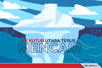 Area Es Terakhir di Kutub Utara Terus Mengalami Pencairan
