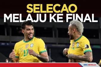 Menang Tipis Atas Peru, Brasil Melaju ke Final Copa America 2021