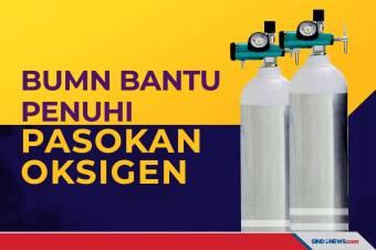 Penuhi Pasokan Oksigen, Menteri Erick Kerahkan BUMN