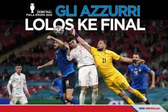 Kalahkan Spanyol Lewat Adu Penalti, Italia ke Final Piala Eropa